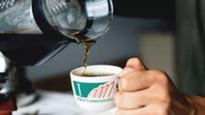 Marketing advies- communicatie kop koffie