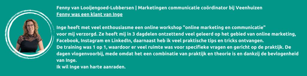 Workshop online marketing en communicatie, IngKaCommunicatie.